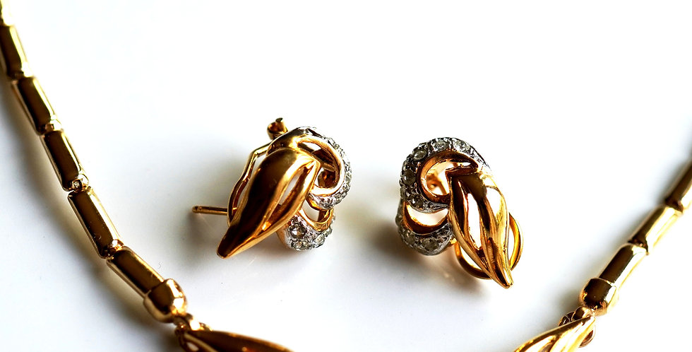 Pretty Twirl Gold Set