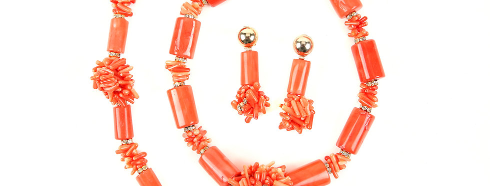Fabulous Coral Set