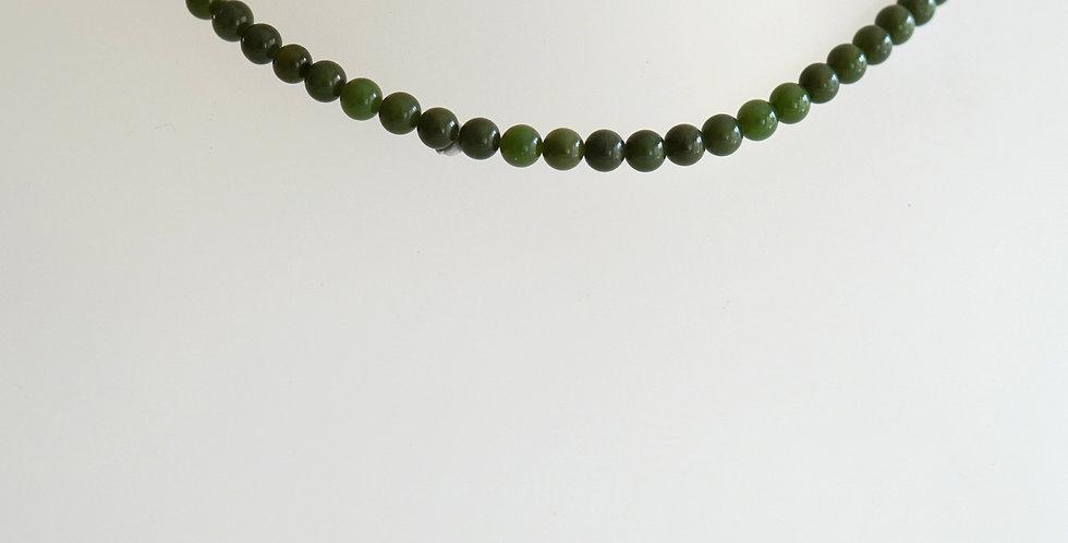 6mm Dark Green Jade