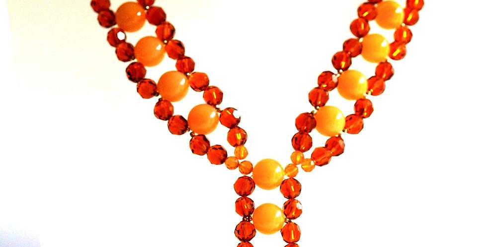 Stunning Topaz & Orange