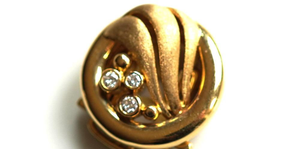Gold Sphere Diamond Set
