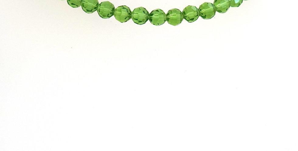 7mm Green Grass Crystals