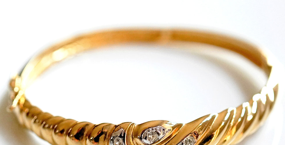 Beverley Gold Bangle