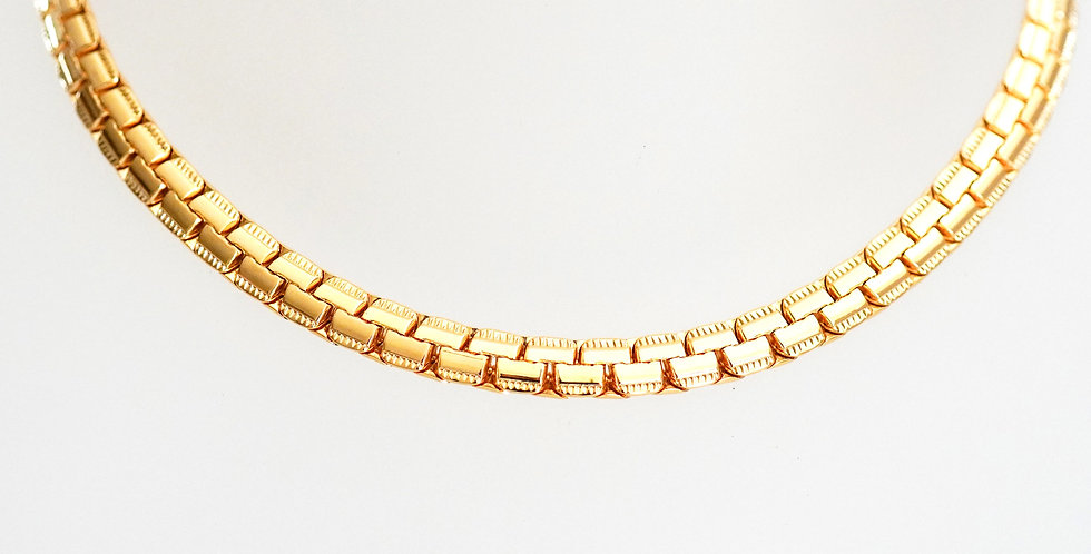 Wide Woven chain x 6