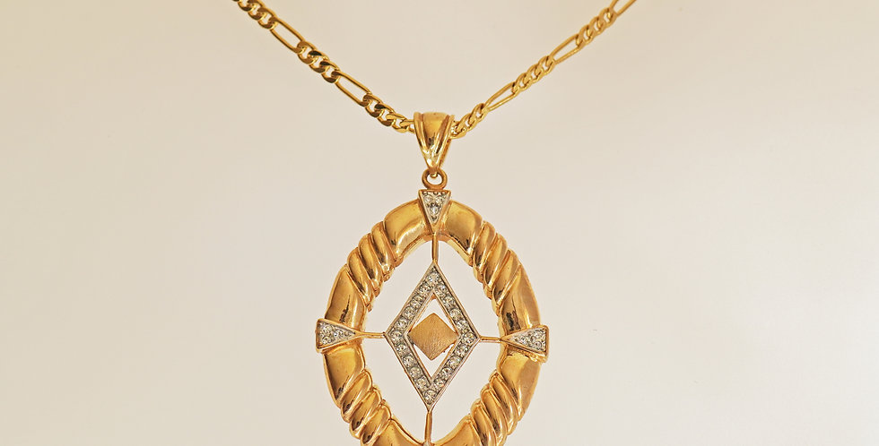 Eve Gold Pendant Set