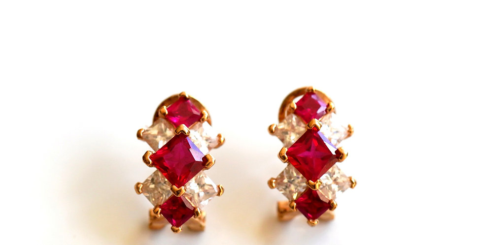Lozenge Earrings