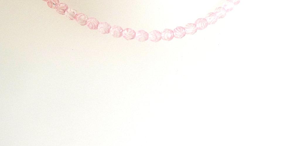 7mm Pink Crystal x 9