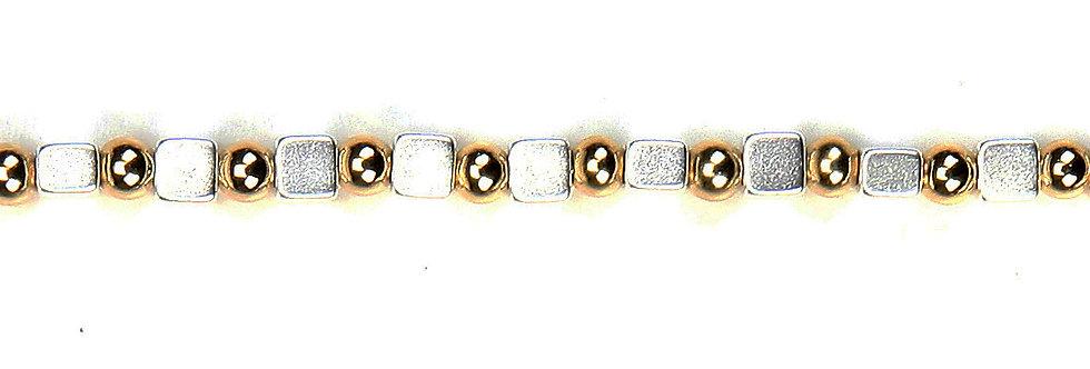Bicolour Square Chain