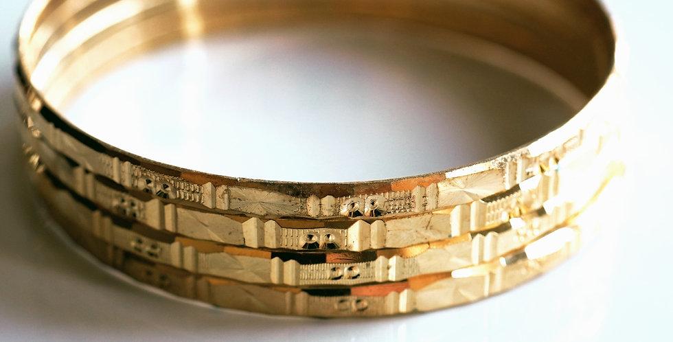 852-Brass Bangles