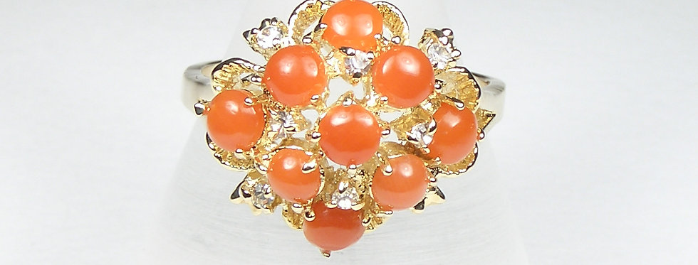 189BR Coral Ring