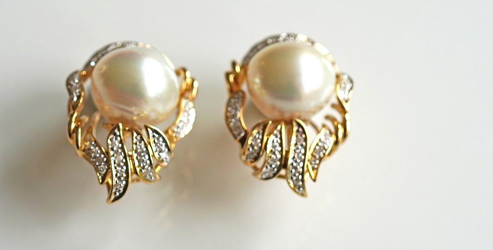 Mable Pearl Earrings