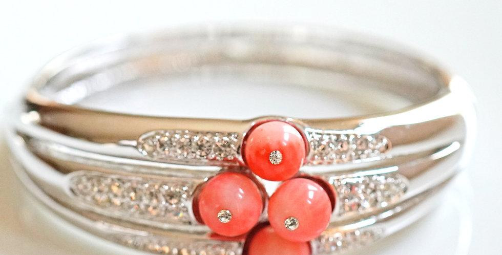 Jose Pink Coral Bangle