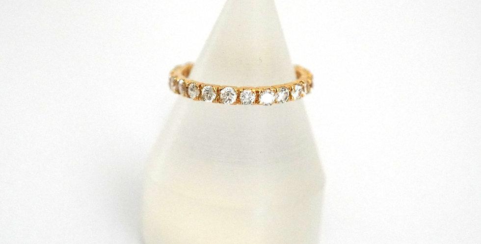 Silver Zirconium Rings-A & B