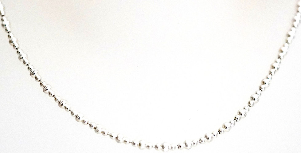Dotted Silver Chain
