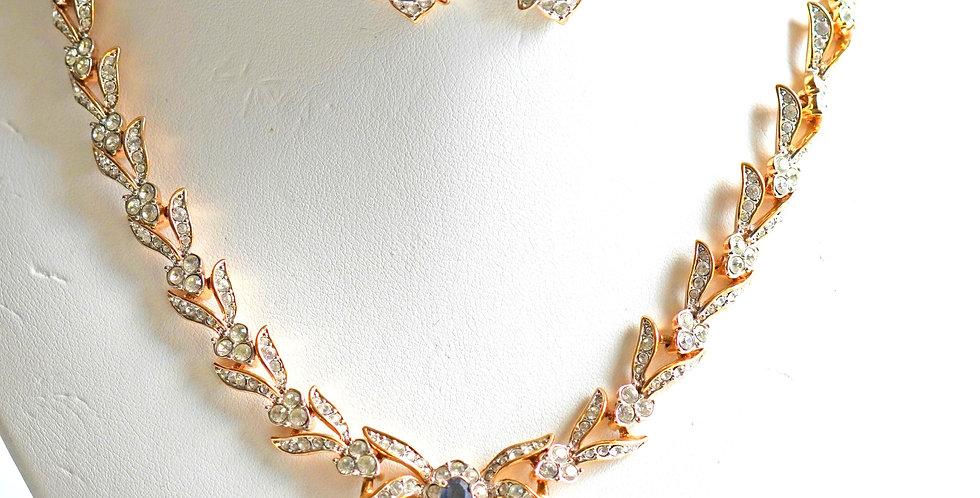 Sapphire Gold Set