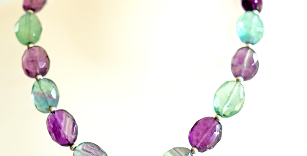 Joelle Fluorite Necklace