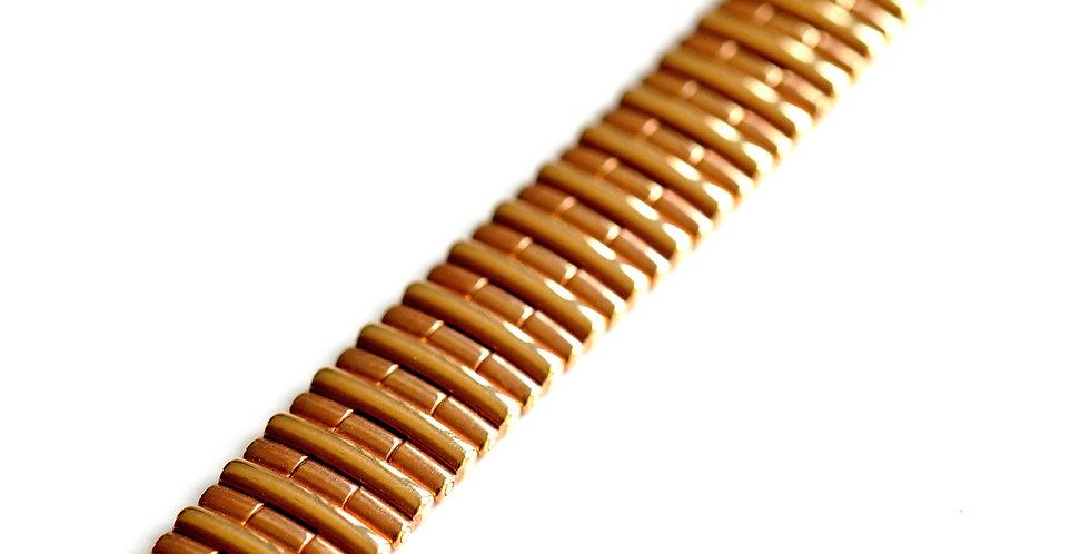 John Gold Wide Bracelet