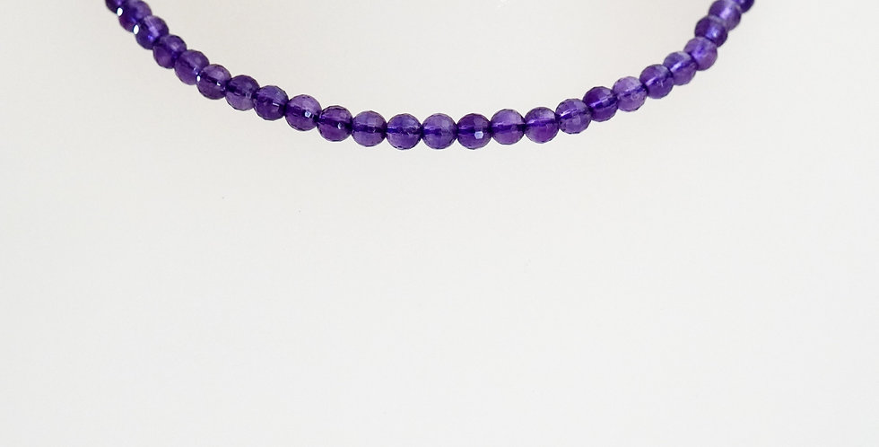 5mm Faceted Amethyst