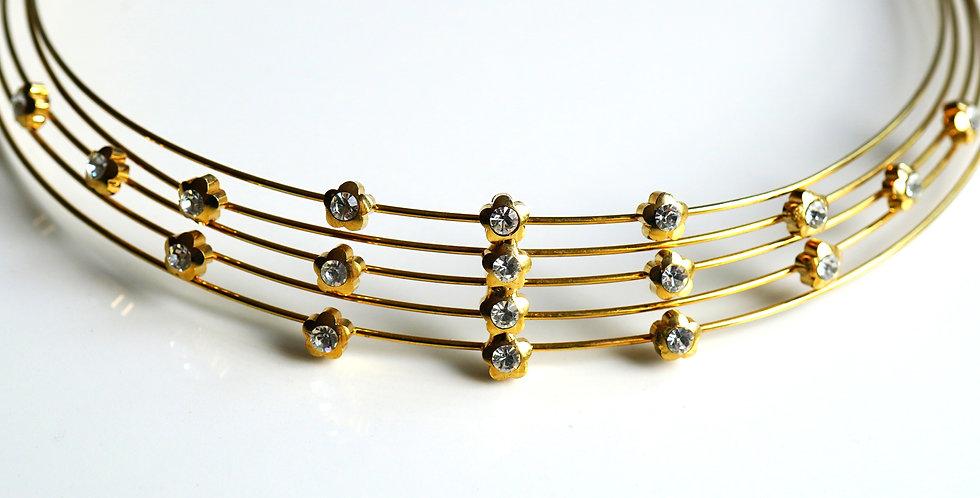 Gold Wire Choker