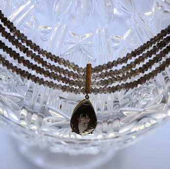 Topaz Gemstone In Gold
