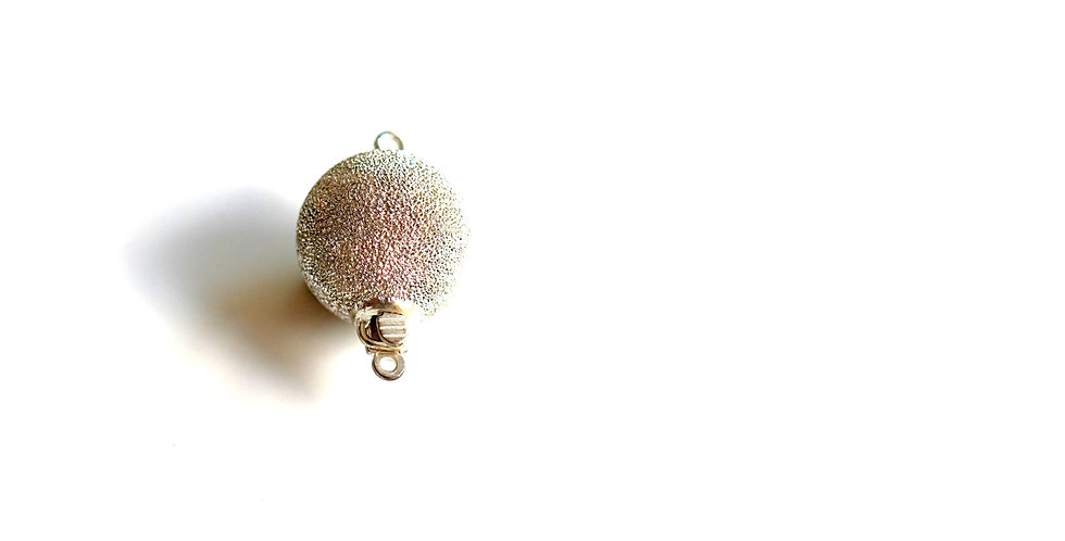 Gold Or Silver Fire Ball Clasp