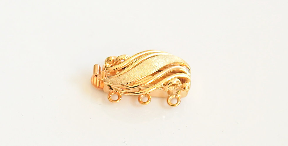 Wave Gold Clasp