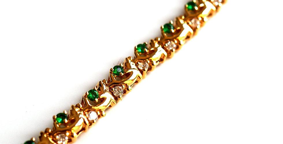Adeye Emerald Bracelet