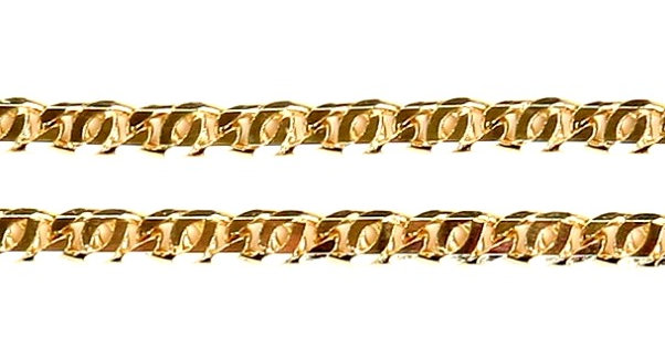 Flat DC Gold Link Chain