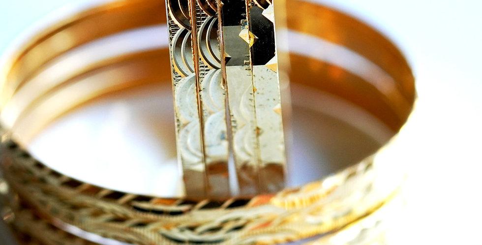 851-  Brass Bangles