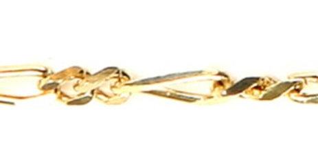 CD44- Long Link Figaro Chain
