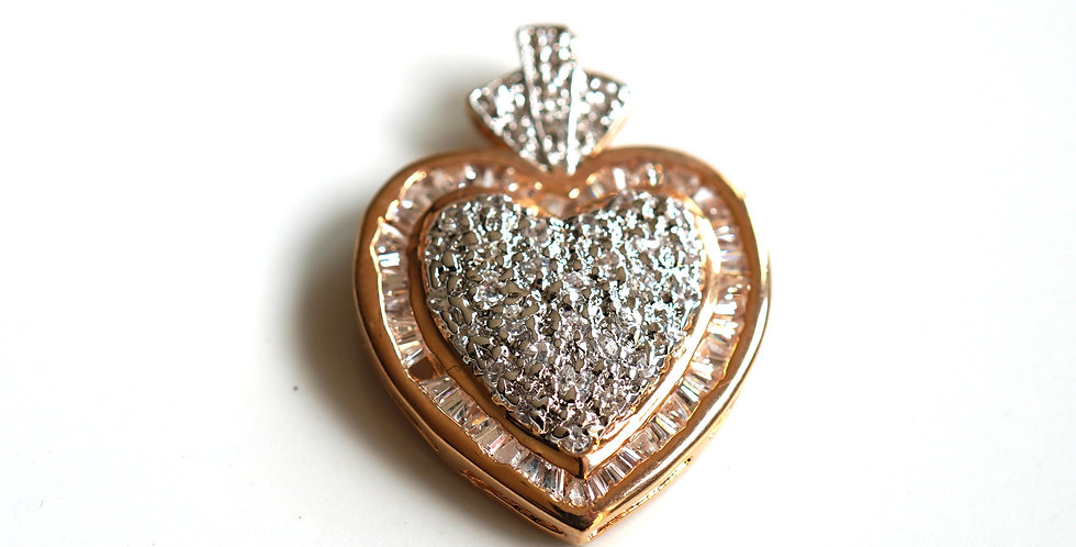 Heart Gold Pendant