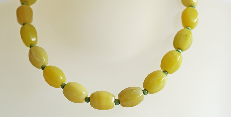 Flair Olive Necklace