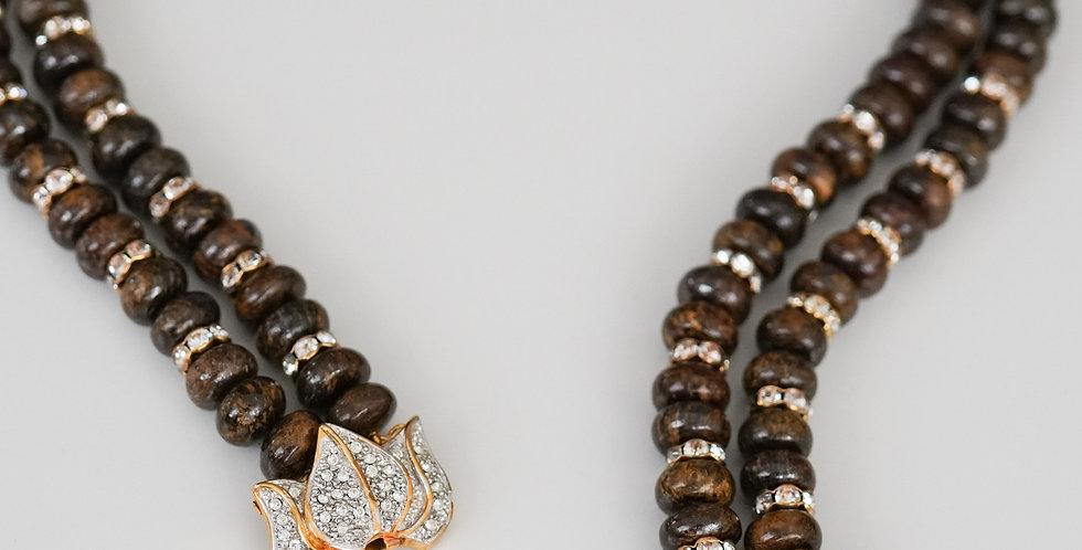 Serena Tiger Eye Necklace