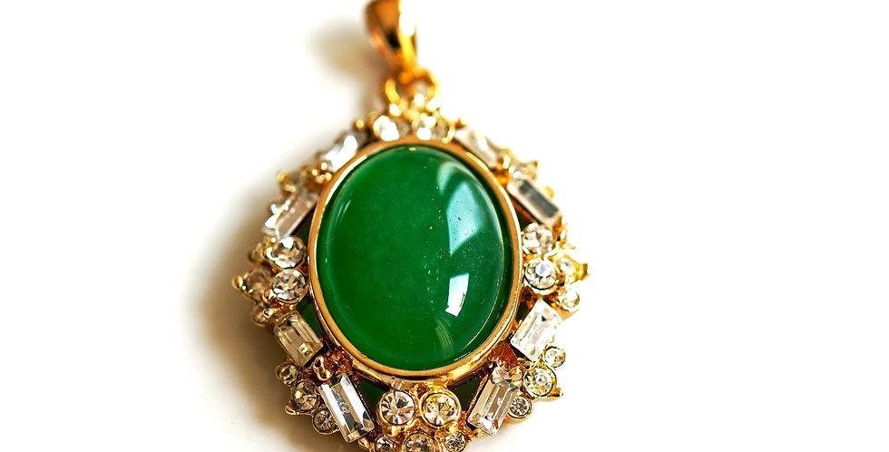 Zircon Jade Pendant