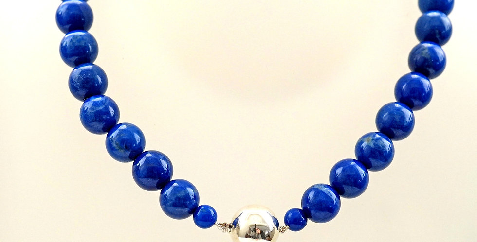 Lapis With Silver