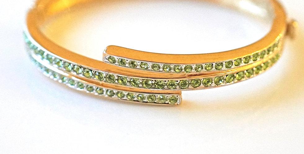Aspen Gold-Peridot-Bangle