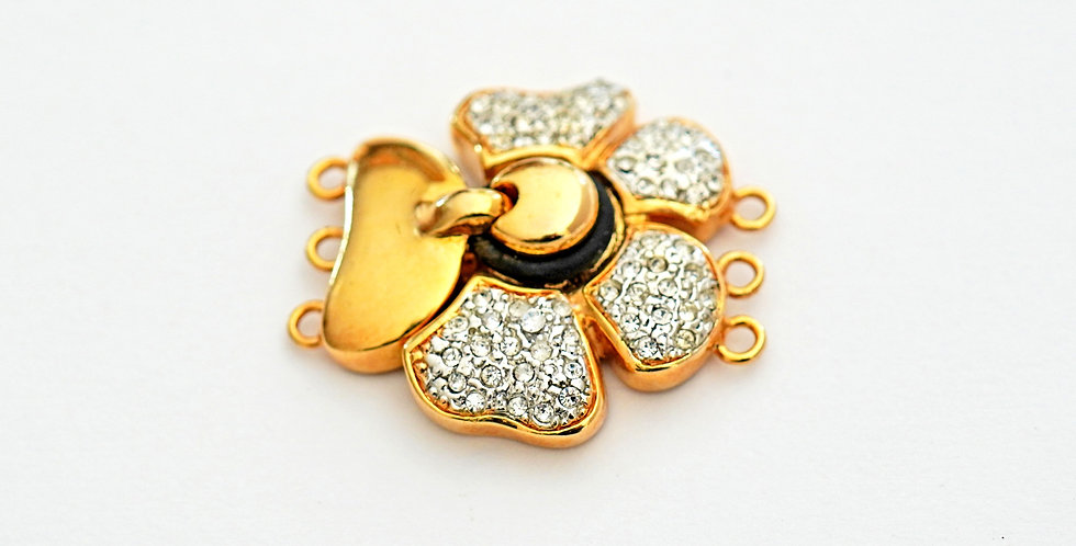 Clover Gold Clasp