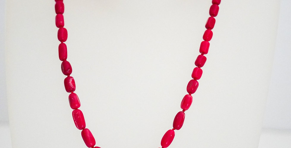 Knotted Red Coral