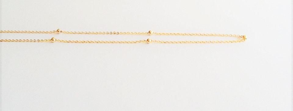 45cm- 5 Ball Chain
