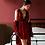 Thumbnail: Belle - Velvet Night Dress Set with Dressing Gown - Velour PJ Set for Women