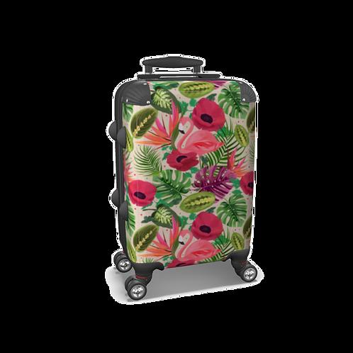 Beleza - Flamingo Suitcase - Carry-on Luggage