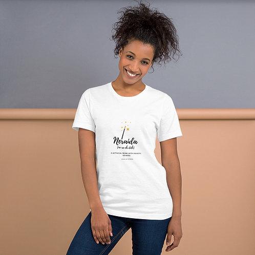 Neraida T-Shirt Womens T-shirt with Greek word Neraida Gift ideas for her