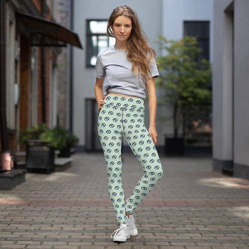Leto - Colourful Designer High-Waisted Gym Leggings for Women Sports Pants