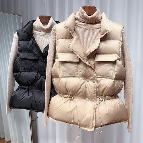 Windproof and Lightweight Padded Down Vest
