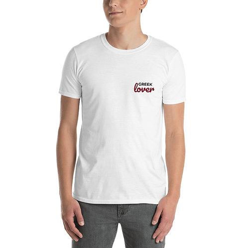 Greek lover t-shirt - Short sleeve cotton for men - Funky T-shirt for Greek