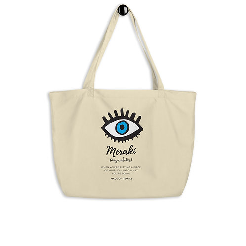 Meraki bag - Large organic cotton c
