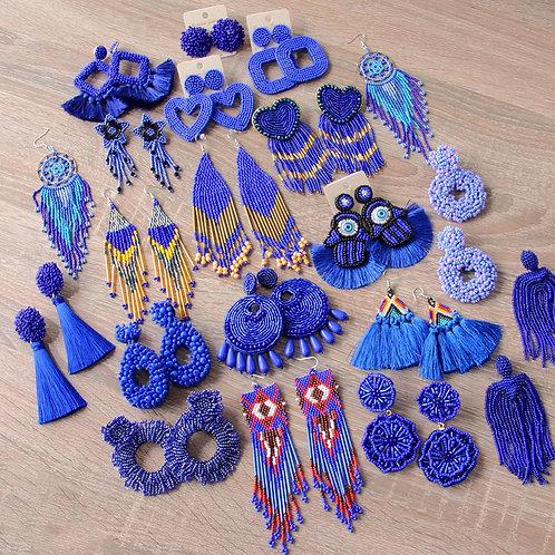 Roxa - Purple Earrings