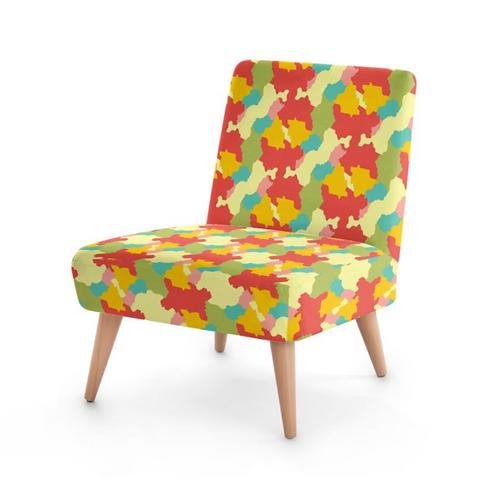 Brazil Mapa - Designer Bespoke Occasional Chair