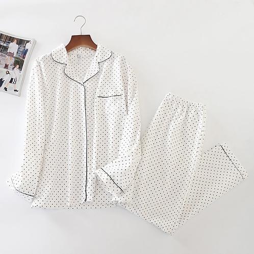 Bavaria - Flannel Pajama Sets in Cotton for Women - PJ Staycation wear