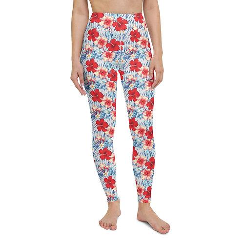 Amor Flor - Designer Colourful High-Waisted Gym Leggings for Women